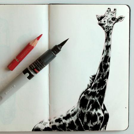 anna-lubinski-illustration-carnet-de-croquis-museum-girafe
