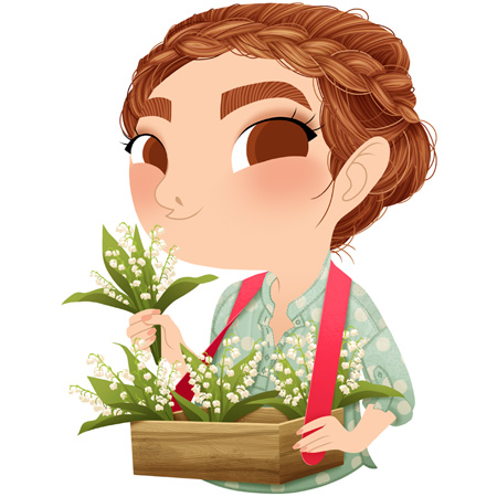 anna-lubinski-illustration-1er-mai-muguet-printemps