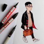anna-lubinski-illustration-instagram-portraits-parisiens-01-06-2016