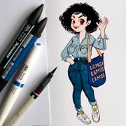 anna lubinski portrait parisien instagram 13-07-2016