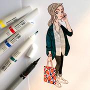 anna lubinski portrait parisien instagram 30-06-2016