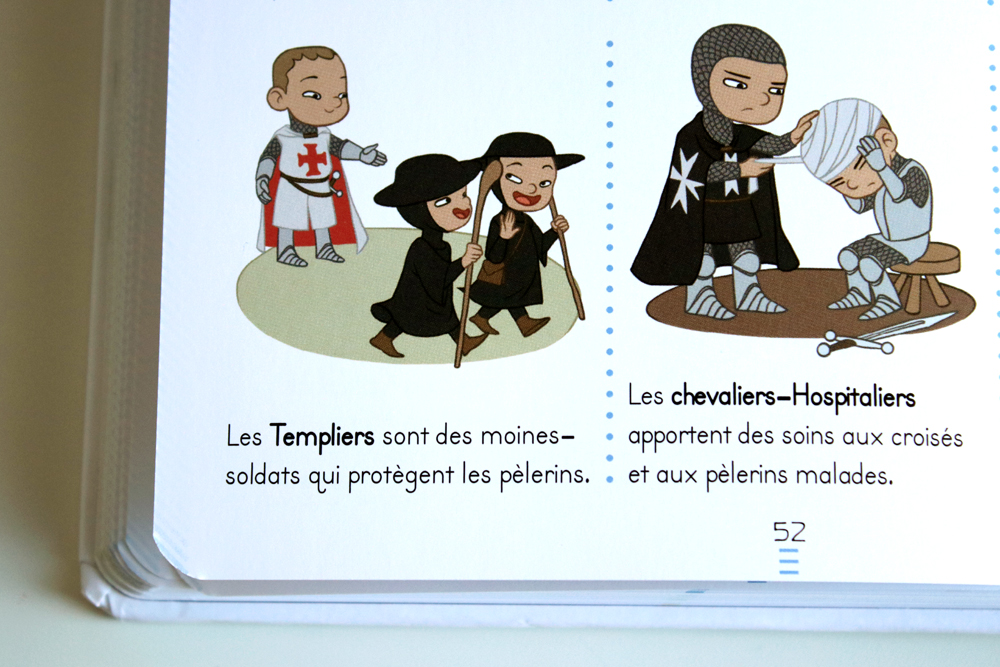 anna-lubinski-les-chevaliers-larousse-chevaliers-en-croisade
